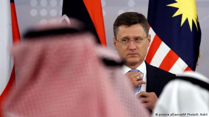 Saudi Arabien OPEC Treffen l Russicher Energieminister Alexander Novak (picture alliance/AP Photo/A. Nabil)