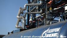 Russland l Moskauer Ölraffinerie OAO Gazprom