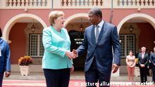 Angola Staatsbesuch l Bundeskanzlerin Merkel trifft Präsident Lourenco
