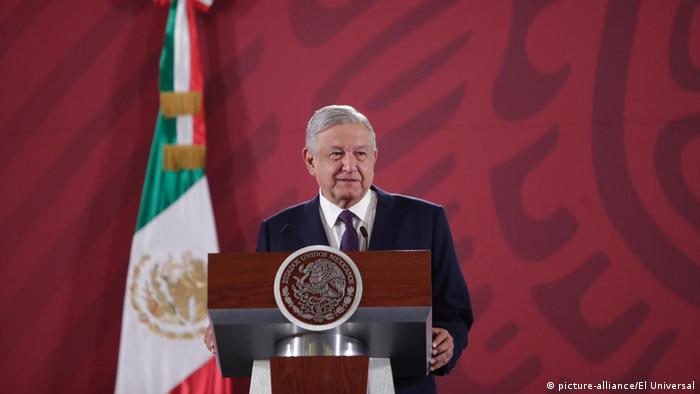 Der mexikanische Präsident Andrés Manuel López Obrador verlost Präsidentenflugzeug