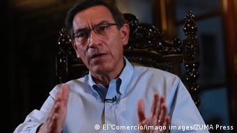 Martin Vizcarra (El Comercio/imago images/ZUMA Press)