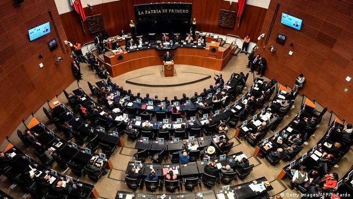 Senado de México, en Ciudad de México