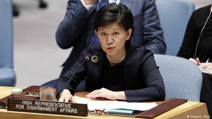 UN-Unterstaatssekretär für Abrüstungsfragen Izumi Nakamitsu (Imago/L. Muzi)