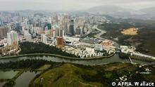 Hongkong Sperrung Grenzübergang zu Festland-China