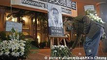 Trauer Dr. Li Wenliang Hongkong Coronavirus