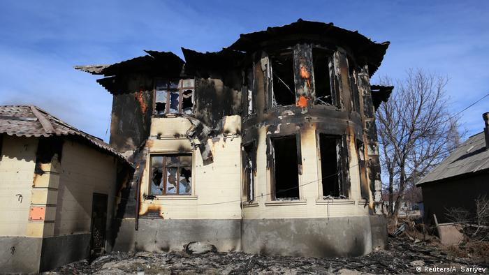 Последствия беспорядков на юге Казахстана