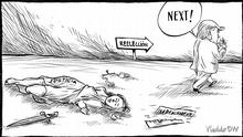 Karikatur Vladdo Lavada de manos