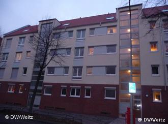 Фасад дома для геев и лесбиянок в Кельне