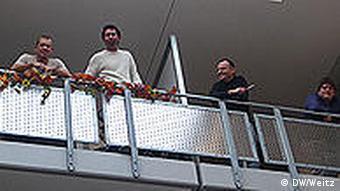 На балконе Villa anders