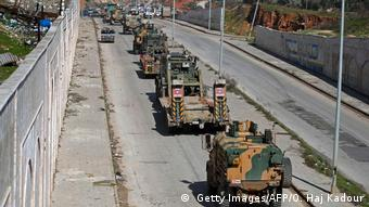 Syrien | Türkischer Militärkonvoi passiert Grenze