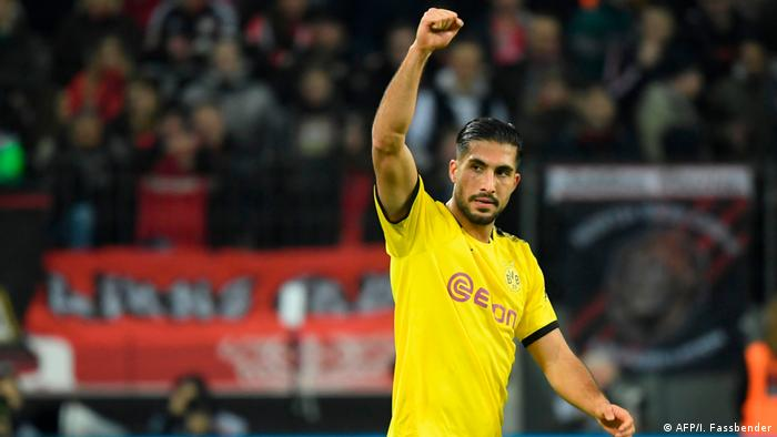 Emre Can gave a solid display on debut, and also recognised BVB's problem