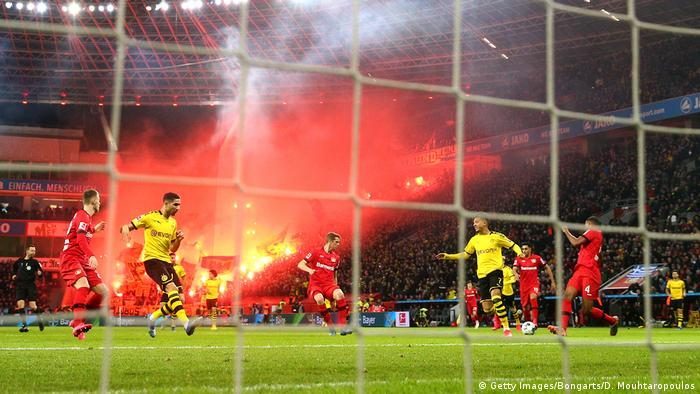 Borussia Dortmund reveal true identity in Leverkusen thriller