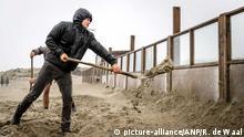Niederlande Vorbereitungen auf Sturm Ciara