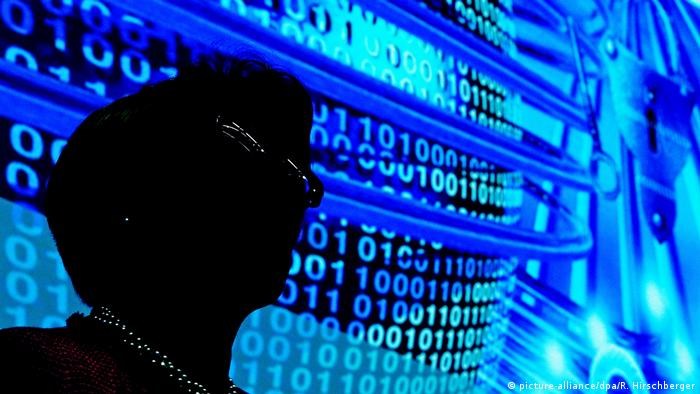 Символическое изображение хакера