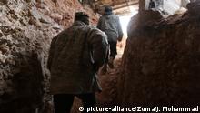 Syrien Aleppo Hayat Tahrir al-Sham Kämpfer Tunnel