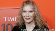 New York TIME 100 Gala Mia Farrow