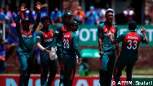 Südafrika Potchefstroom Cricket-Endspiel U19-Weltmeisterschaft Bangladesch vs Indien