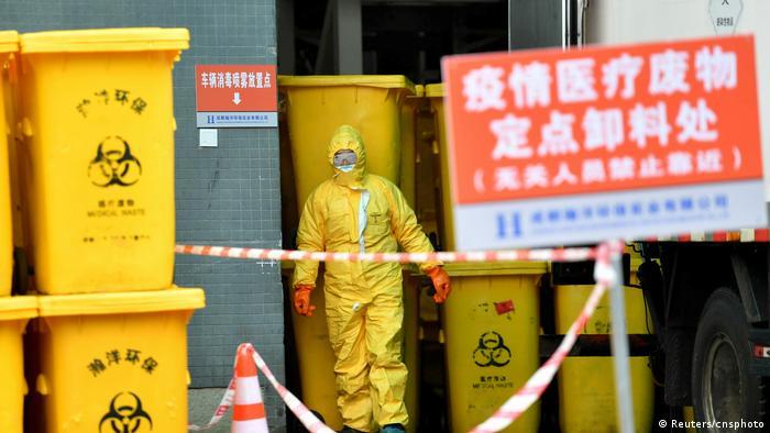 China Chengdu Krankenhausabfälle Coronavirus (Reuters/cnsphoto)
