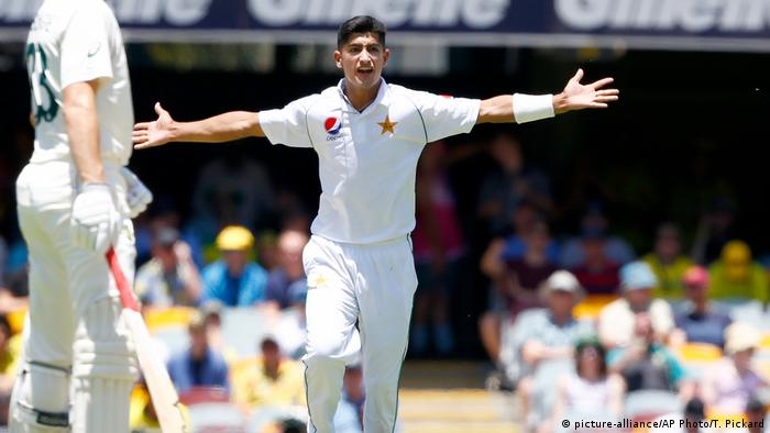 Australien Cricket | Pakistans Naseem Shah (picture-alliance/AP Photo/T. Pickard)