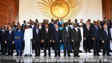 Äthiopien Addis Abeba Gipfeltreffen der Staatschefs der Afrikanischen Union
