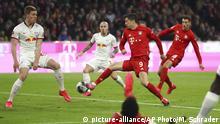Fußball Bundesliga FC Bayern München - RB Leipzig |