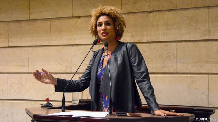 Brasilien Gedenken an Marielle Franco