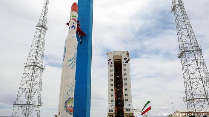 Iran Sateliten-Start ARCHIV