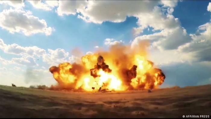 Iran Raad-500-Rakete