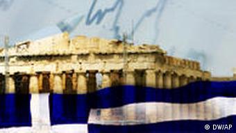 Symbolbild Finanzkrise Wirtschaftskrise Griechenland