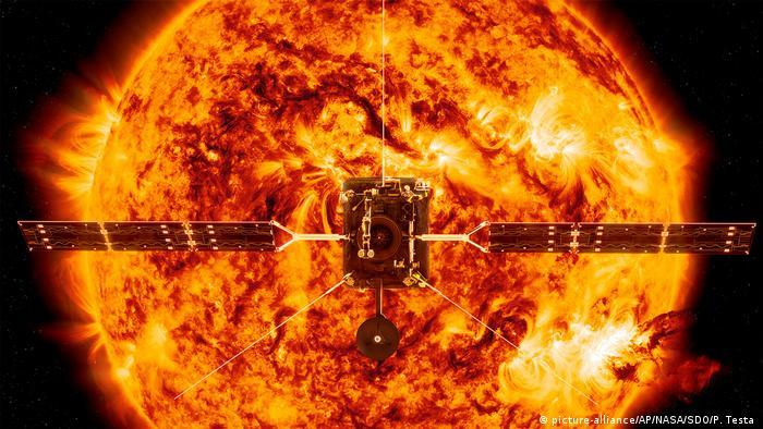 Ilustração da Solar Orbiter