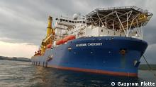Russland: Schiff Akademik Cherskiy