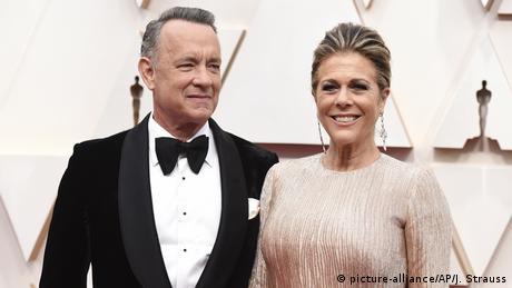 USA, Los Angeles: 92. Oscarverleihung im Dolby Theatre - Tom Hanks und Rita Wilson (picture-alliance/AP/J. Strauss)