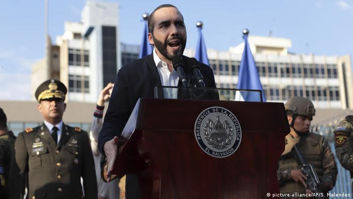 Nayib Bukele, presidente de El Salvador. (9.02.2020).