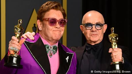 Los Angeles: Oscarverleihung - Elton John und Bernie Taupin (Getty Images/AFP/J. Brown)