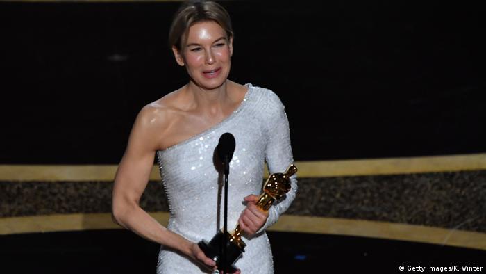 Renée Zellweger levou o Oscar de melhor atriz por Judy