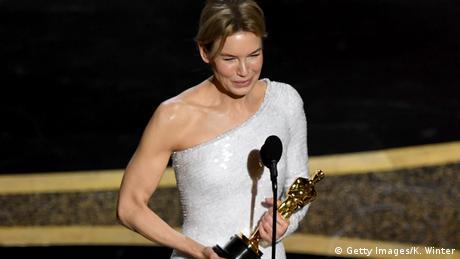 Los Angeles, Oscarverleihung: Rene Zellweger ist beste Hauptdarstellerin (Getty Images/K. Winter)