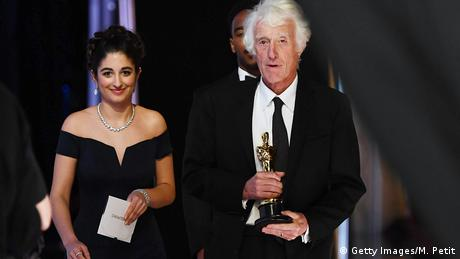 Los Angeles, Oscarverleihung: Roger Deakins gewinnt den Oscar in Beste Kamera (Getty Images/M. Petit)