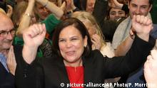 Parlamentswahl in Irland - Siegerin - Mary Lou McDonald