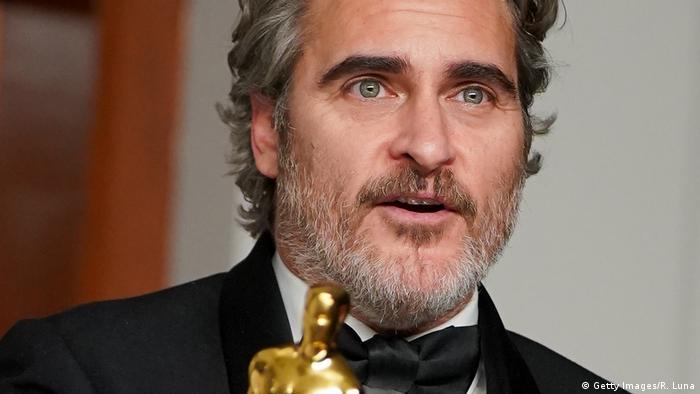 Joaquin Phoenix ganhou o Oscar de melhor ator por Coringa