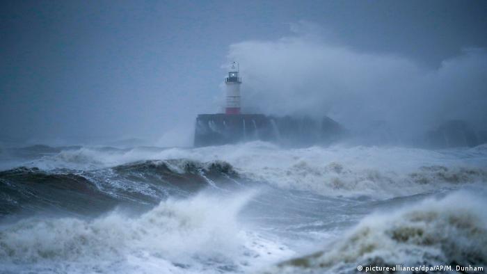Ураган Забине. Февраль 2020 года