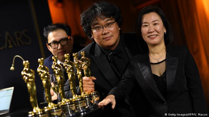 Oscarverleihung 2020, Bong Joon Ho & Team