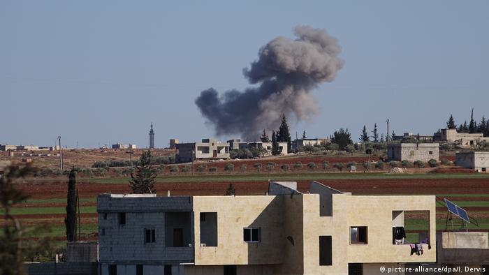 Syrien Russland, Angriff Idlib