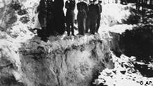 Mord polnischer Offiziere vom KGB in Katyn