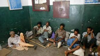 Häftlinge im Gefängnis (Foto: ap)