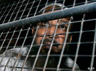Ein zum Tode Verurteilter im Gefängnis