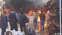 Autobombenanschlag in Afrin