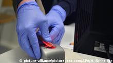Fingerabdruck-Scan