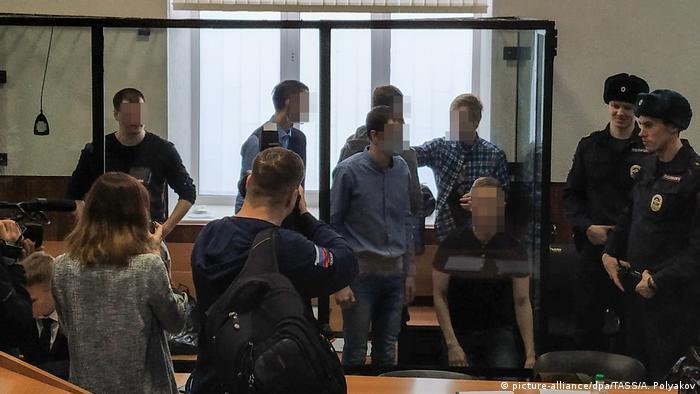 Russland Pensa | Gerichtsprozess zu Network Gruppe