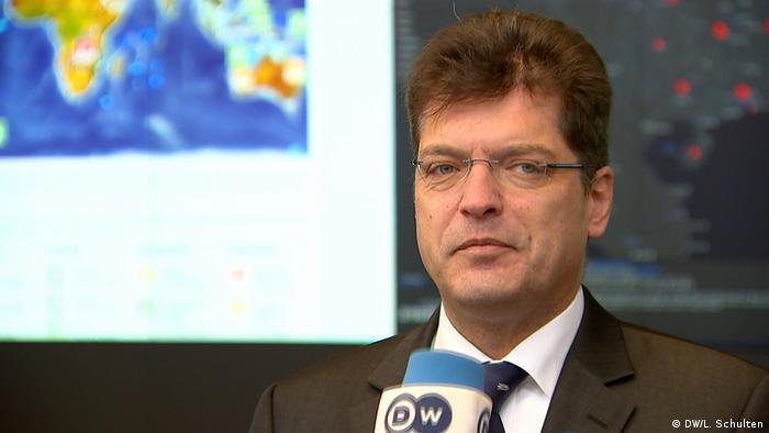 Janez Lenarczicz, komisarz EU ds. wszelkiego rodzaju kryzysów (DW/L. Schulten)
