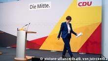 Berlin CDU Pressekonferenz Annegret Kramp-Karrenbauer